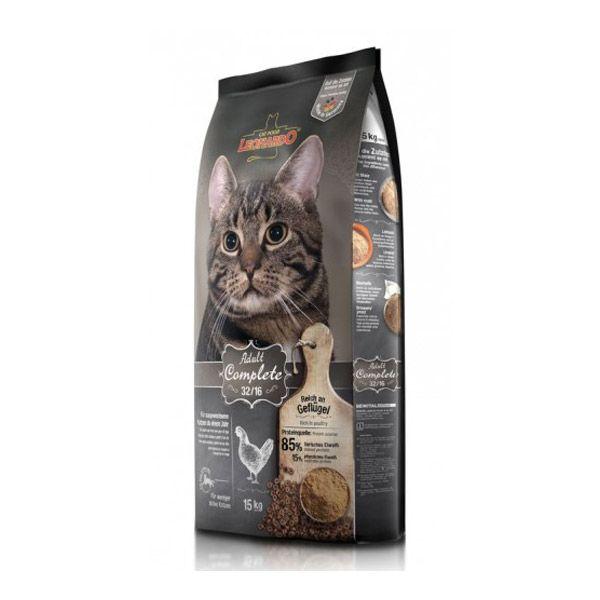 غذای خشک لئوناردو مخصوص گربه بالغ داخل خانه با فعالیت پایین 7500gr