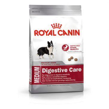 غذای خشک  سگ نژاد  متوسط با  گوارش حساس 4kg