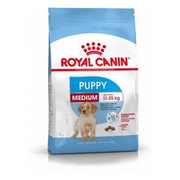 غذای خشک  سگ نژاد متوسط   2 تا 12 ماه 4kg
