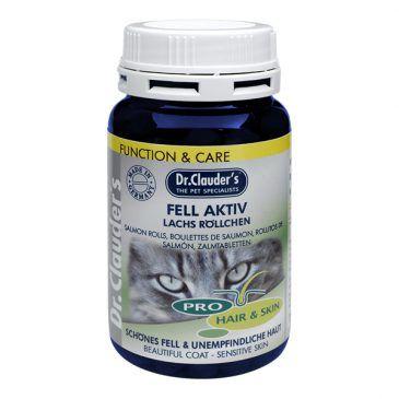 قرص مولتی ویتامین پوست و مو حاوی مخمر، کلیه ویتامینهای گروه آ،ب،د و بیوتین و روغن ماهی مخصوص گربه 100gr
