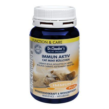 قرص مولتی ویتامین ایمیون اکتیو، تقویت کننده سیستم ایمنی حاوی انواع ویتامینها، بتاگلوکان و بیوتین مخصوص گربه 100gr