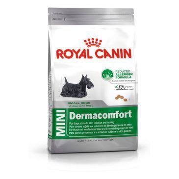 غذای خشک سگ  نژادکوچک با پوست و موی حساس  2kg