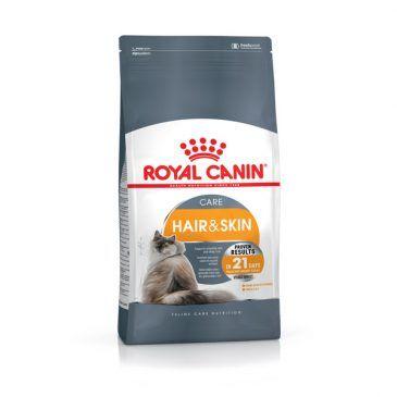 غذای خشک گربه بالغ  با  پوست و مو حساس   4kg