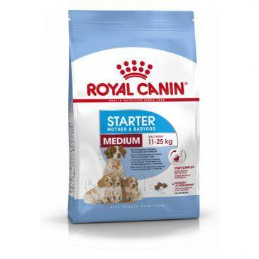 غذای خشک  سگ نژاد متوسط  زیر2 ماه و مادر 4kg