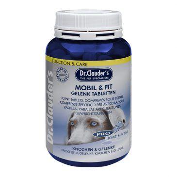 قرص موبایل اند فیت ،تقویت کننده عضلات، مفاصل و تاندونها مخصوص سگ 200gr