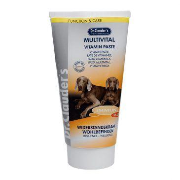 خمیر مولتی ویتامین ترکیب کاملی از کلیه ویتامینها و بتاگلوکان مخمری مخصوص سگ 150gr
