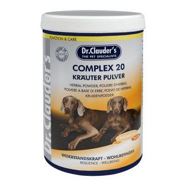 پودر کمپلکس 20، تقویت کننده سیستم ایمنی بدن مخصوص سگ 500gr