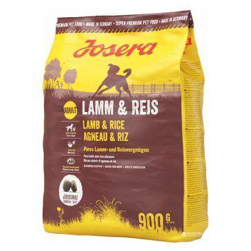غذای خشک جوسرا مخصوص سگ بالغ کلیه نژادها حاوی گوشت بره و برنج 1500gr