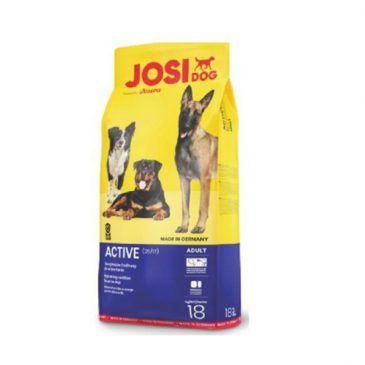 غذای خشک جوسی داگ اکتیو فاقد گلوتن مخصوص سگ کلیه نژادها با فعالیت بالا 1800gr
