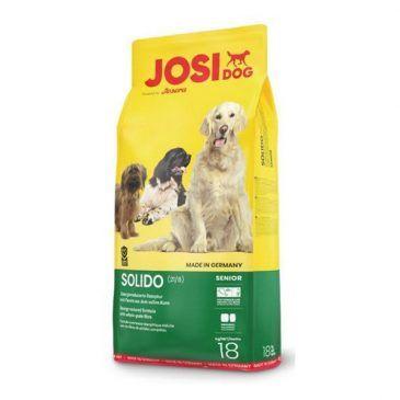 غذای خشک جوسی داگ سولیدو با فیبر بالا مخصوص سگ چاق، کم فعالیت و یا سن بالا 1800gr