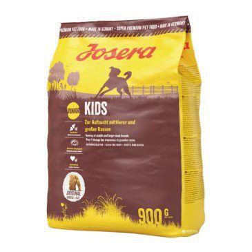 غذاي خشك كيدز جوسرا مخصوص توله سگ نژاد متوسط و بزرگ حاوی گوشت پرندگان  900gr