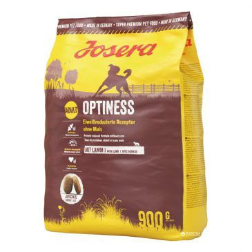 غذای خشک اپتینس مخصوص سگ بالغ نژاد متوسط و بزرگ حاوی گوشت بره 900gr