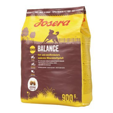 غذاي خشك بالانس جوسرا مخصوص سگ با فعالیت کم و یا سن بالا 900gr