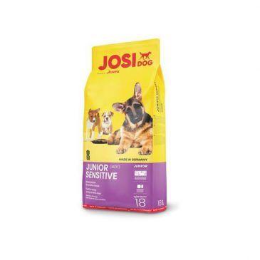 غذای خشک جوسی داگ جونیور سنستیو فاقد گلوتن بهبود دهنده رشد  توله سگ کلیه نژادها با قابلیت هضم بالا  90000gr