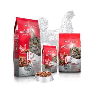 غذای خشک گربه بالغ  با طعم ماکیان بویکت 1000gr