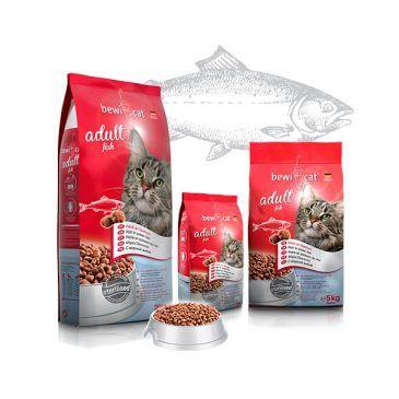 غذای خشک گربه بالغ  با طعم ماهی بویکت 5000gr