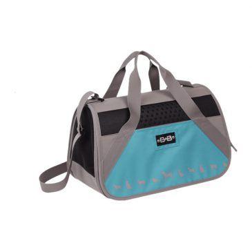 کیف حمل نوبی طرح کایمن تک زیپ رنگ فیروزه ای ابعاد 42*24*26 سانتی متر، تا وزن 8 کیلوگرم