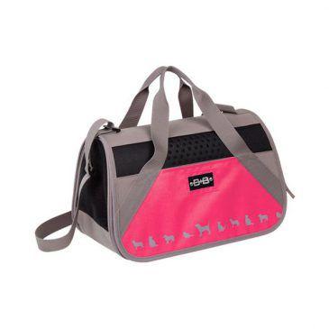 کیف حمل نوبی طرح کایمن تک زیپ رنگ صورتی، ابعاد 42*24*26 سانتی متر، تا وزن 8 کیلوگرم