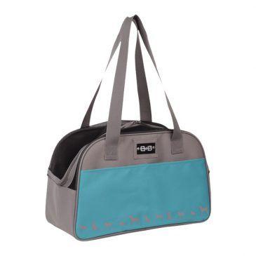 کیف حمل نوبی طرح کایمن سامر تک زیپ رنگ فیروزه ای، ابعاد 42*24*26 سانتی متر، تا وزن 8 کیلوگرم