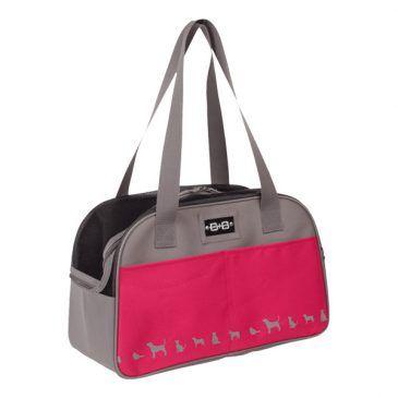 کیف حمل نوبی طرح کایمن سامر تک زیپ رنگ صورتی، ابعاد 42*24*26 سانتی متر، تا وزن 8 کیلوگرم