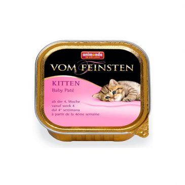 ووم فیستن پته مخصوص بچه گربه تازه از شیر گرفته شده 100gr