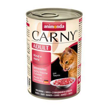 کنسرو کارنی پته حاوی گوشت گاو و دل مخصوص گربه بالغ 400gr
