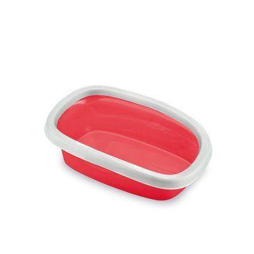 توالت گربه استفان پلاست مدل اسپرینت 20 رنگ قرمز ، ابعاد 17*58*39  سانتی متر