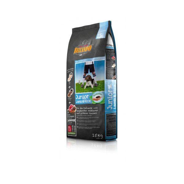 غذای خشک توله سگ نژاد بزرگ بالای 4 ماه - بره و برنج 15000gr