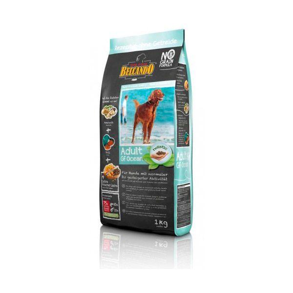 غذای خشک بدون غلات سگ با طعم ماهیان اقیانوسی 1000gr