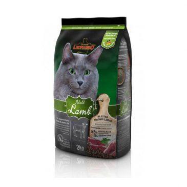 غذای خشک بره و برنج لئوناردو مخصوص گربه حساس و بدغذا 2000gr