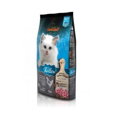 غذای خشک کیتن لئوناردو مخصوص بچه گربه 7500gr
