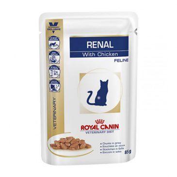 سوپ (پوچ) گربه مبتلا به بیماری کلیوی با مرغ 100gr