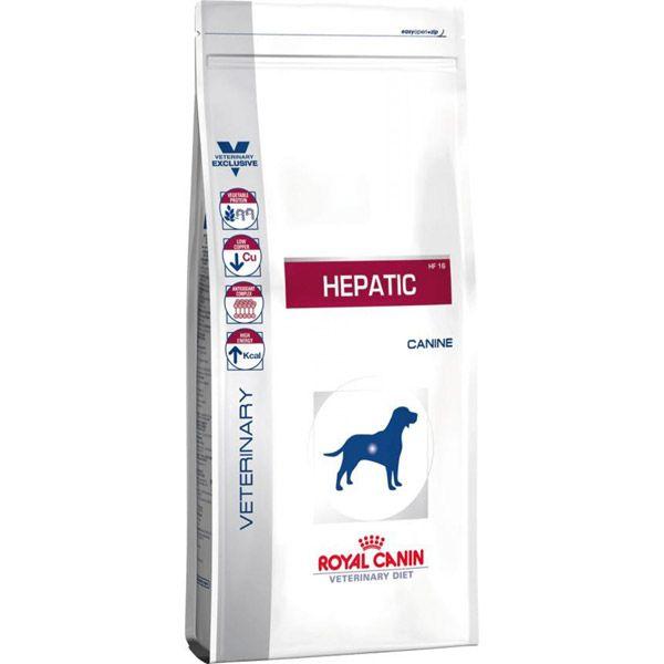 غذای خشک رویال کنین مخصوص سگ مبتلا به بیماری کبدی 15kg