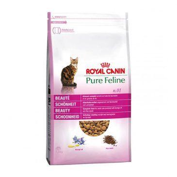 غذای خشک رویال کنین برای زیبایی پوست و موی گربه 1.5kg
