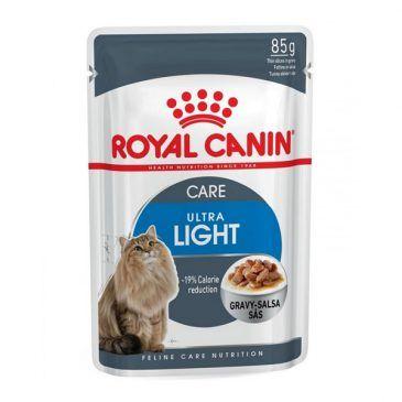 سوپ (پوچ) رژیمی در شیره گوشت برای کاهش وزن  گربه های چاق 85gr