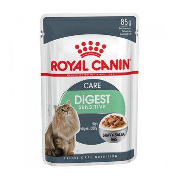سوپ (پوچ) مخصوص گربه های داری دستگاه گوارش حساس 85gr