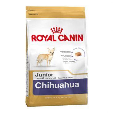 غذای خشک رویال کنین مخصوص توله سگ نژاد شیهواهوا 2 تا 8 ماه 20kg