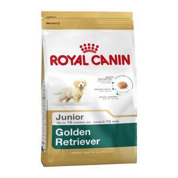 غذای خشک سگ رویال کنین مخصوص توله سگ و سگ جوان نژاد گلدن رتریور 2 تا 15 ماه 3kg