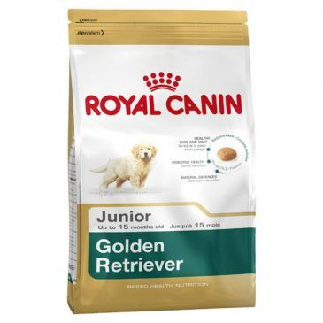 غذای خشک سگ رویال کنین مخصوص توله سگ و سگ جوان نژاد گلدن رتریور 2 تا 15 ماه 12kg