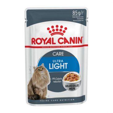 سوپ ( پوچ)  رژیمی در ژله برای کاهش وزن  گربه های چاق 85gr