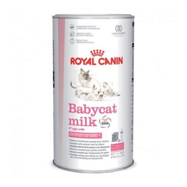 شیر خشک بچه گربه رویال کنین + ست کامل شیشه شیر 300gr