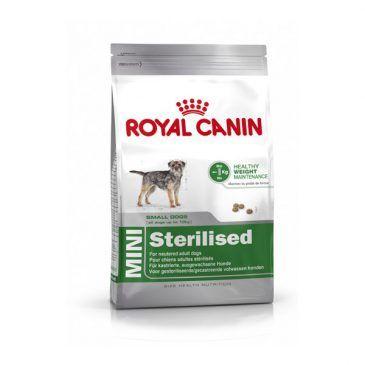 غذای خشک مخصوص سگ نژاد کوچک عقیم شده 2kg