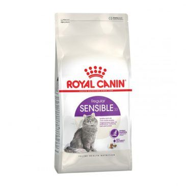 غذای خشک رویال کنین مخصوص گربه های بالغ با دستگاه گوارش حساس 2kg