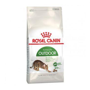 غذای خشک رویال کنین مخصوص گربه های بالغ خارج از خانه 2kg