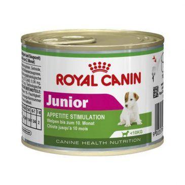 کنسرو رویال کنین مخصوص توله سگ 2 تا 10 ماهه نژاد کوچک 195gr
