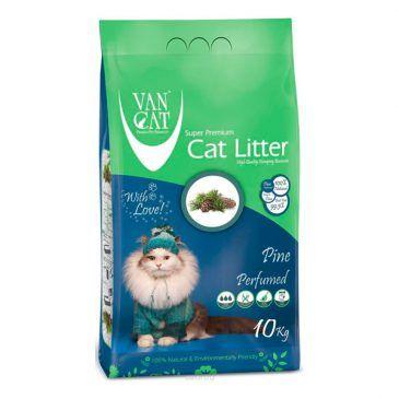 خاك گربه ون كت اولتراكلامپينگ با رايحه كاج جنگلي حاوي مواد آنتي باكتريال -10 كيلوگرم