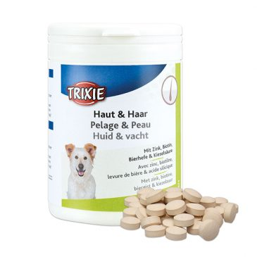 مکمل تقویت کننده پوست و موی سگ TRIXIE